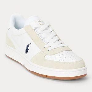 💕NWOT  Polo Ralph Lauren Blue/White Sneakers